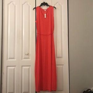 NWT Coral Maxi Dress
